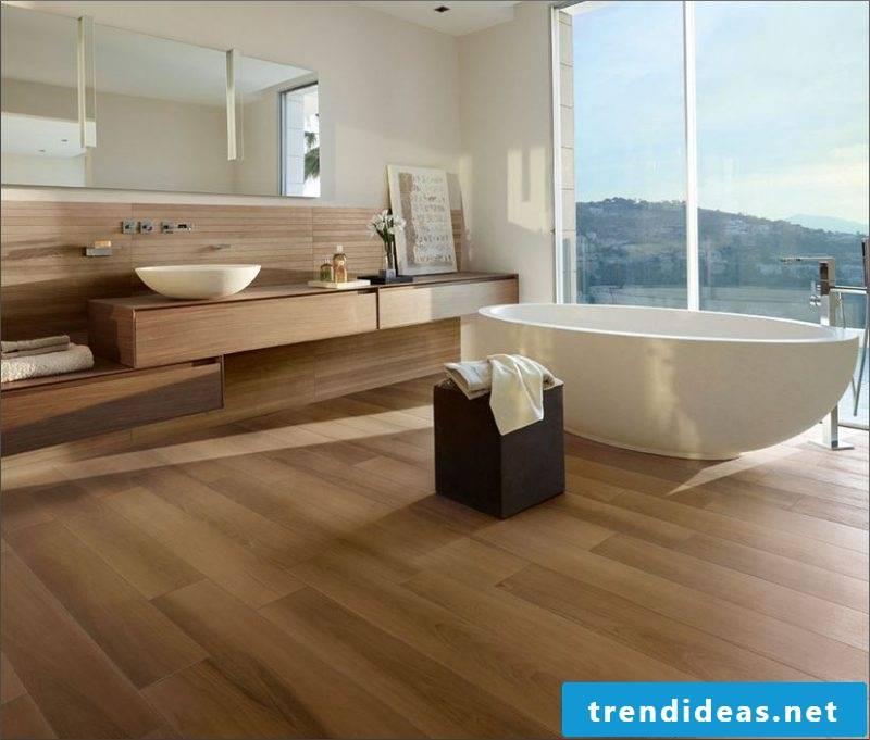 linoleum wood look stylish