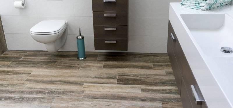 linoleum wood look simple