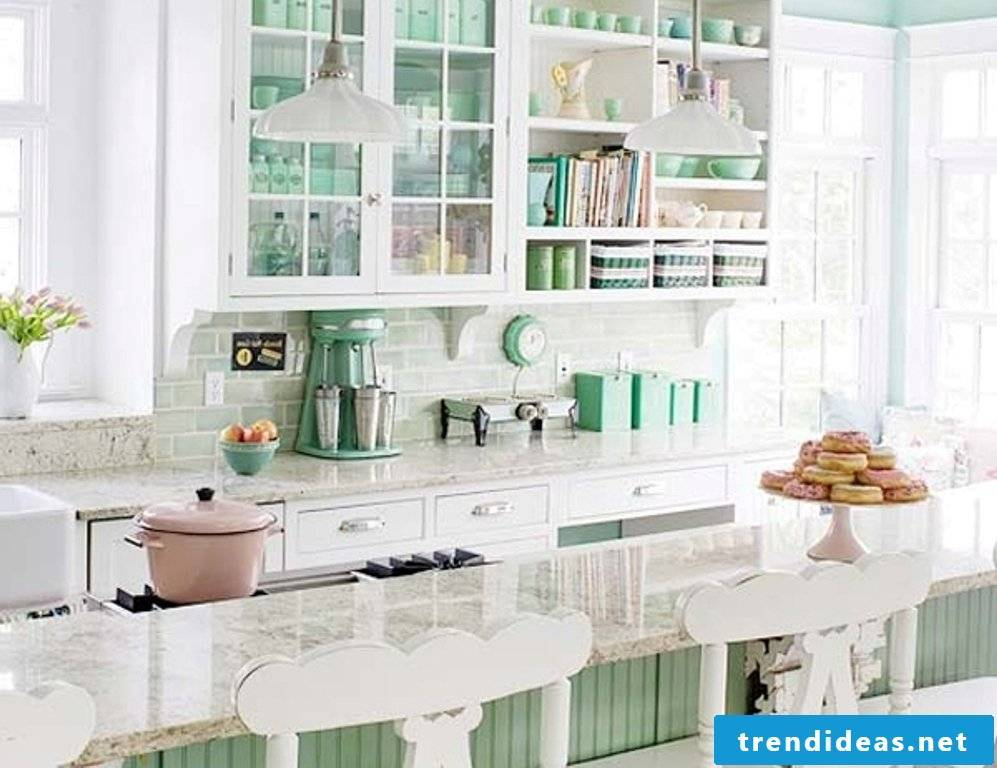 green living ideas in the provence kitchen