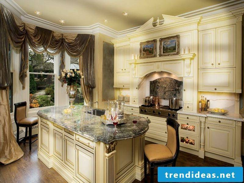 detailed provence kitchen