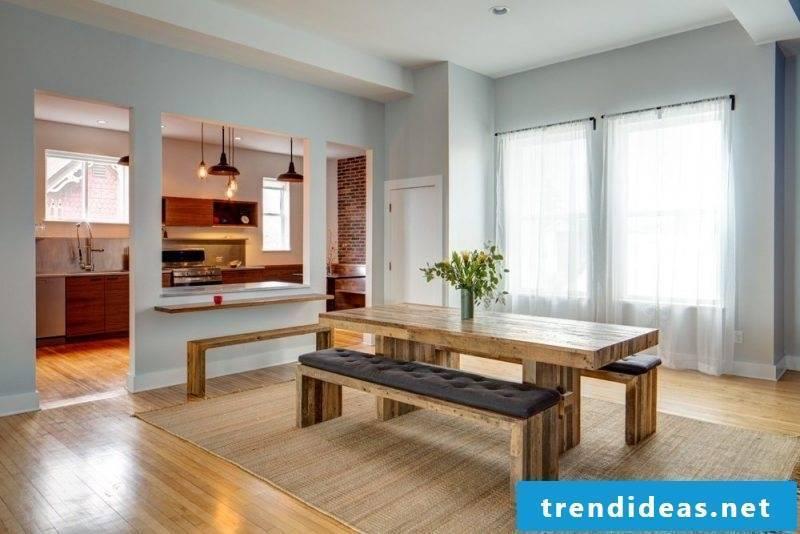 Loft furniture furnishing ideas