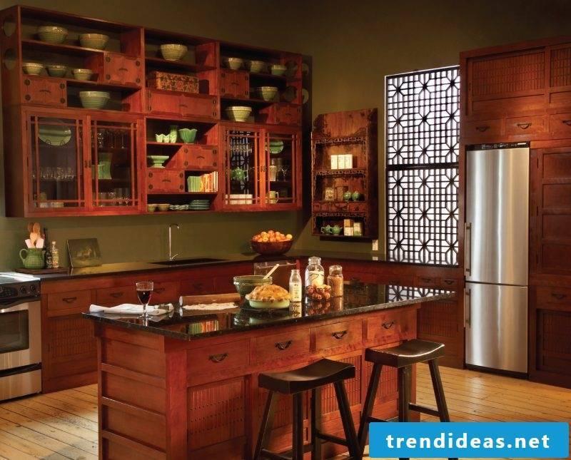 Loft furniture features