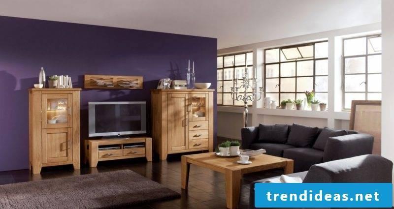 Loft furniture shelf