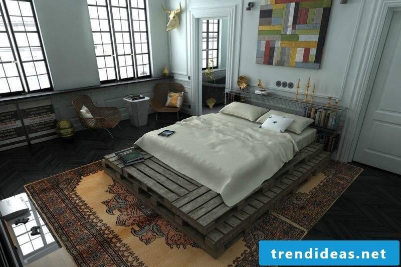 Loft furniture bedroom