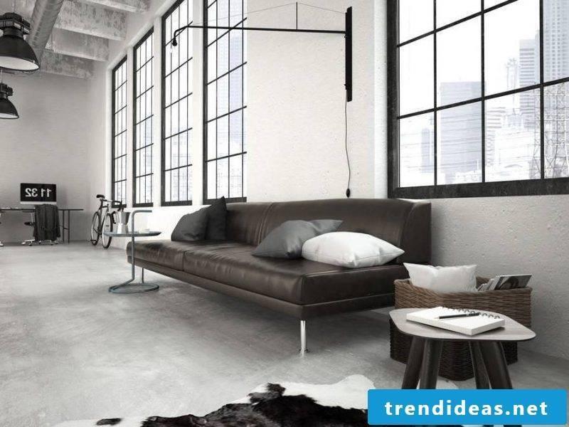 Loft furniture sofa