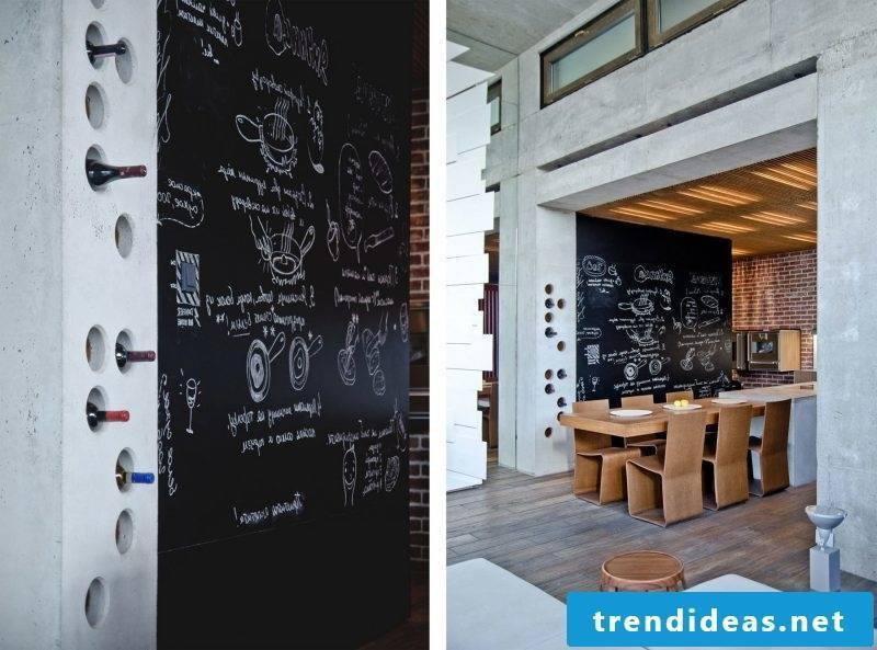 Loft furniture dining room