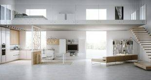 Living kitchen modern and practical - 40 great interior design ideas