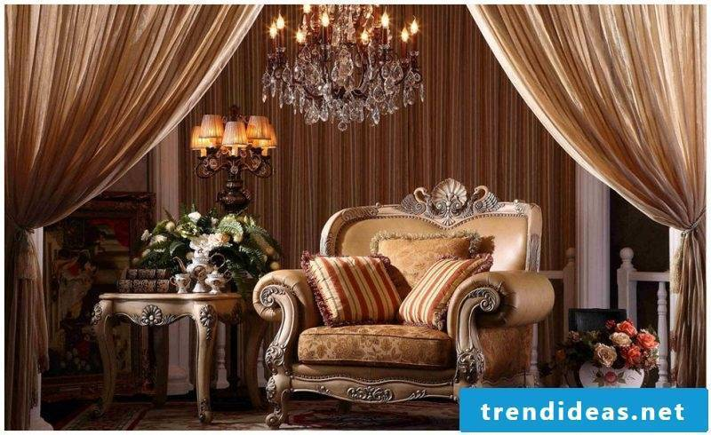 Art Nouveau features furniture