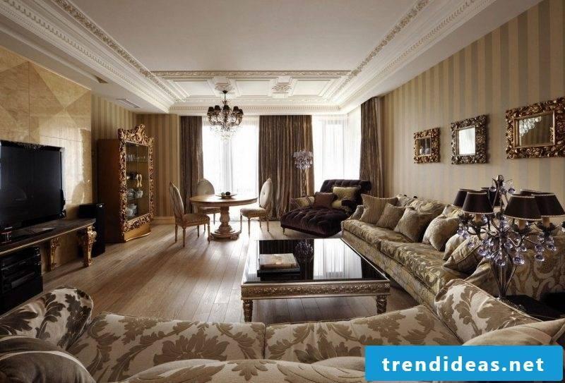Art Nouveau features living space