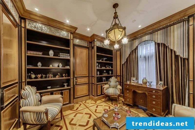 Art Nouveau Features living room interior design