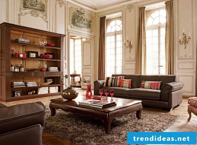 Living room design country style features