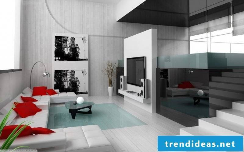 Living room minimalist decor