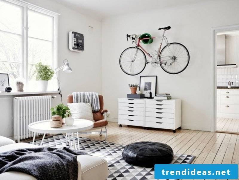 Living room design Scandinavian design