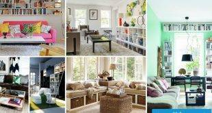 Living room design with colors and pictures - 70 fresh proposals