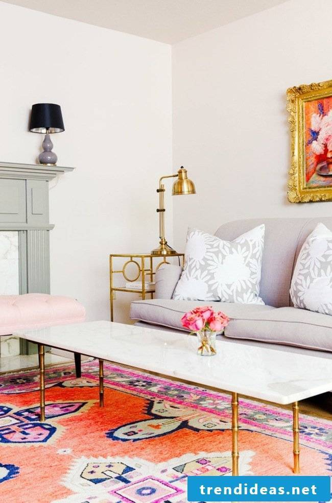 Living room spring decoration ideas