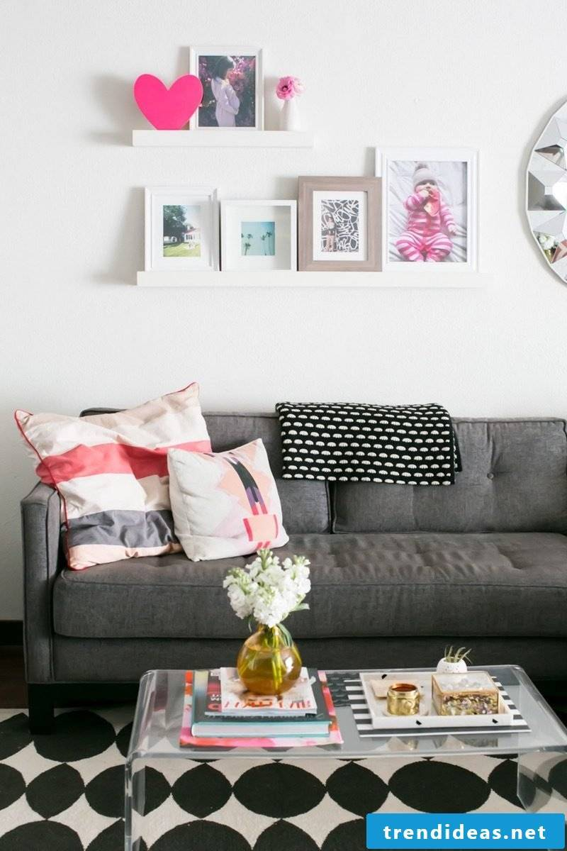 Bring spring in the living room: DIY spring decoration