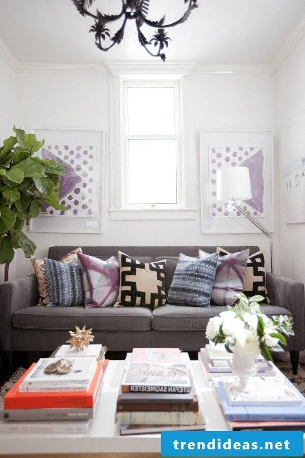Bring spring in the living room with these creative living ideas
