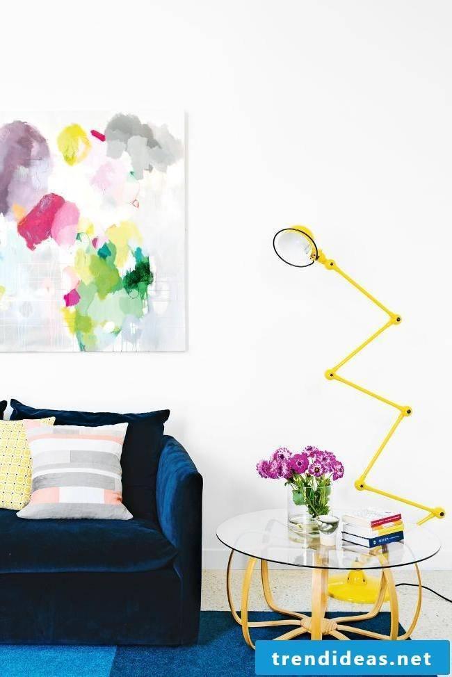 Living room spring decoration