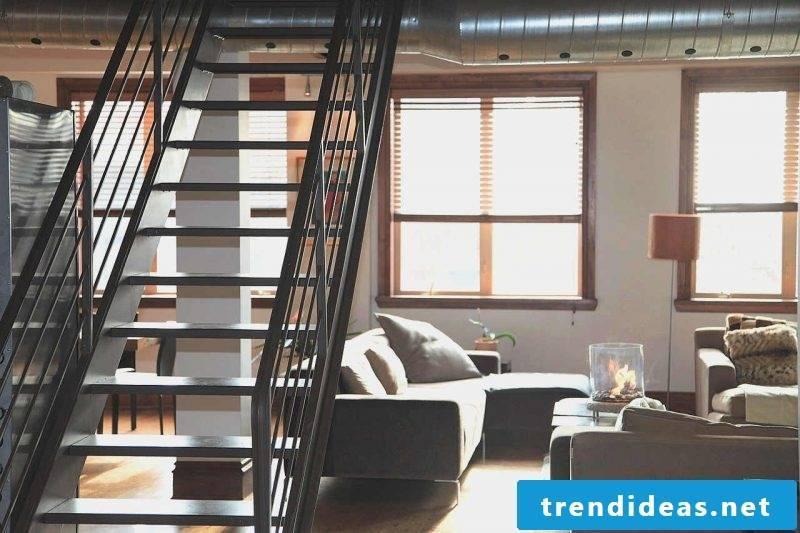loft apartment stylish