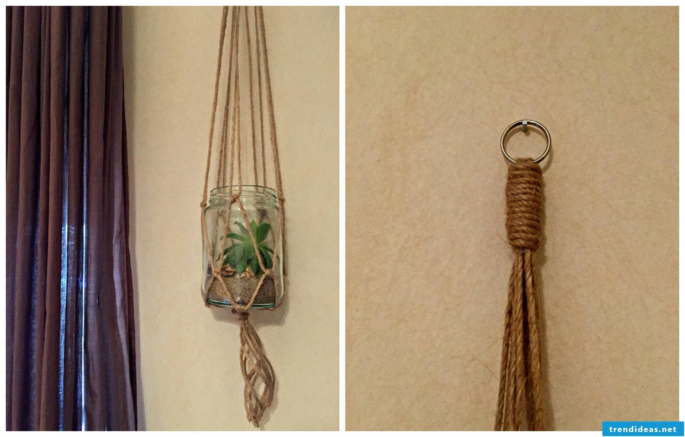 Macrame - a knotting technique from the Orient | Best Trend ideas
