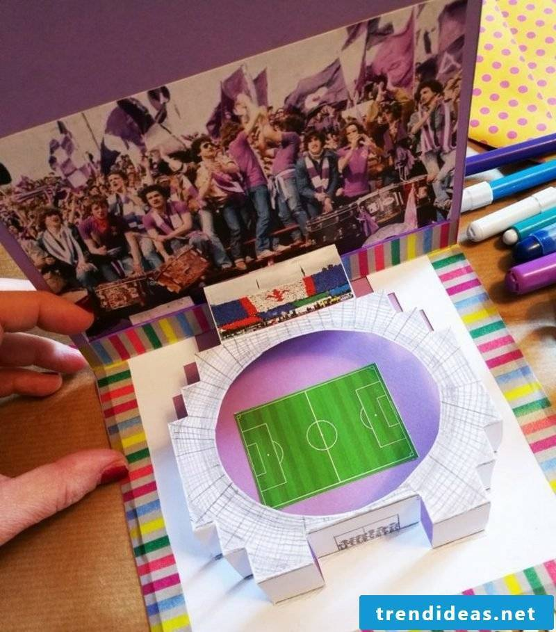 Make gift coupon Experience gift football game