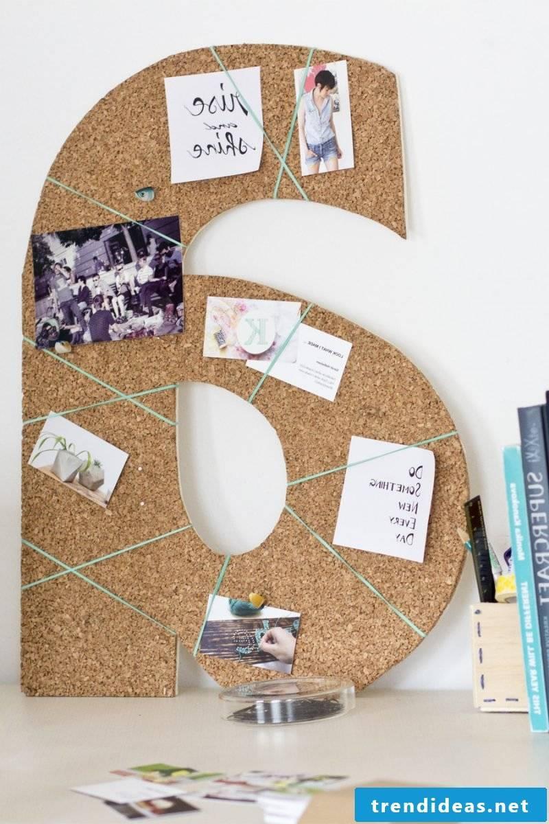 pin board make wood yourself