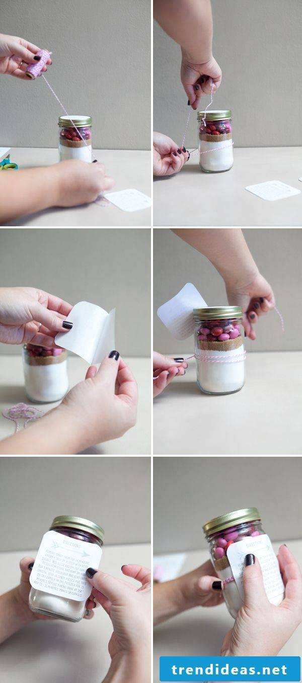 Make small gifts yourself - ideas for packaging