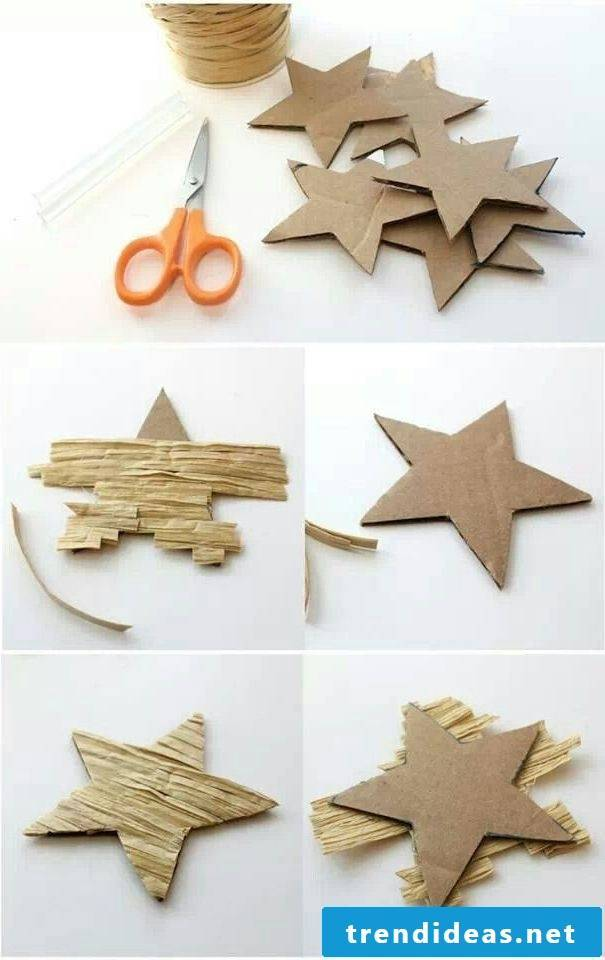 Crafting ideas for the Christmas tree