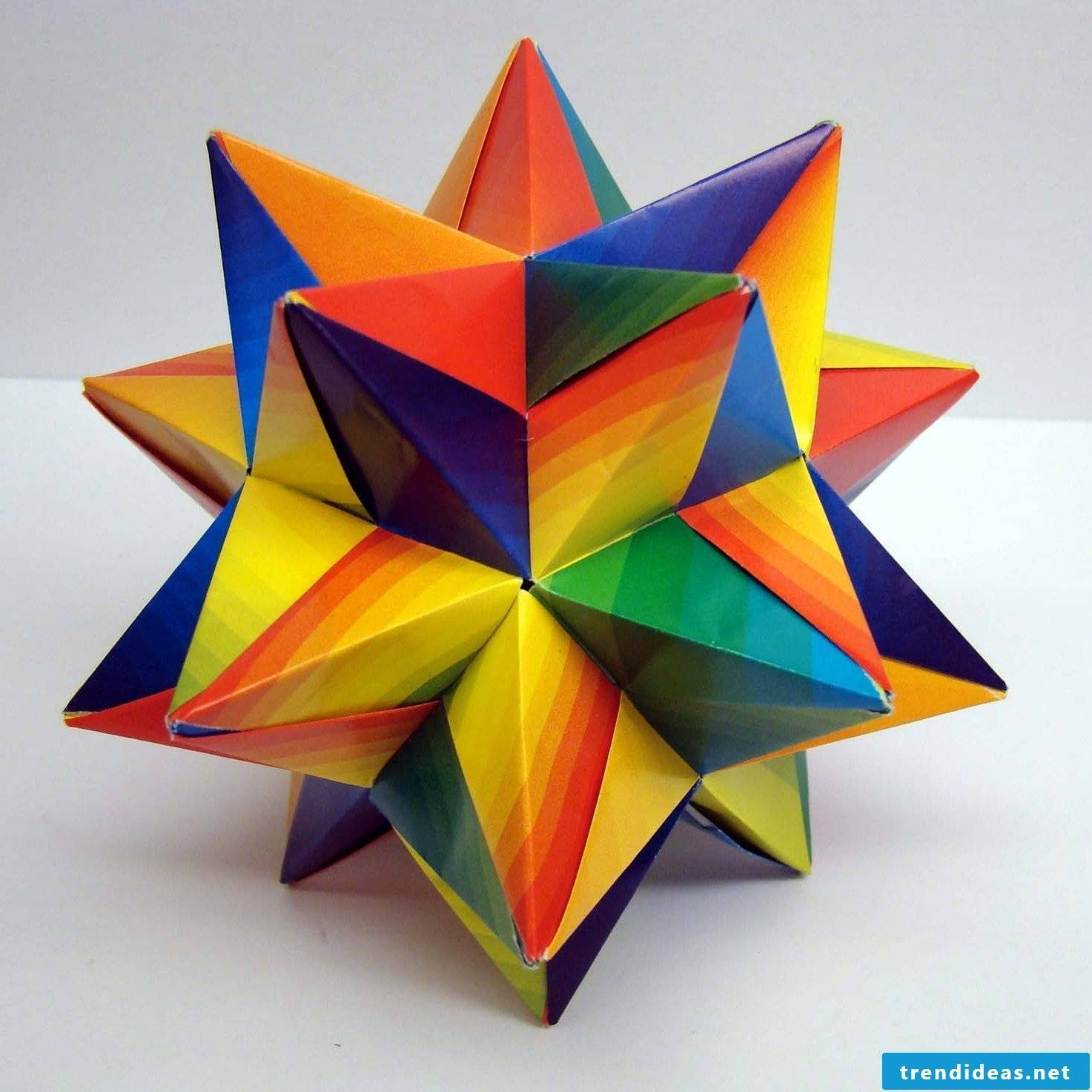 Fold Christmas star