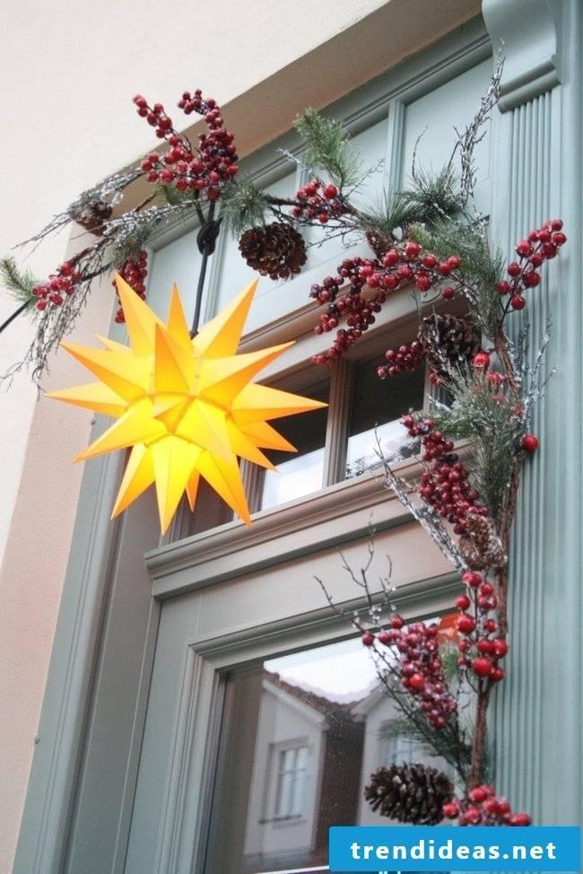 Christmas stars make Christmas more beautiful