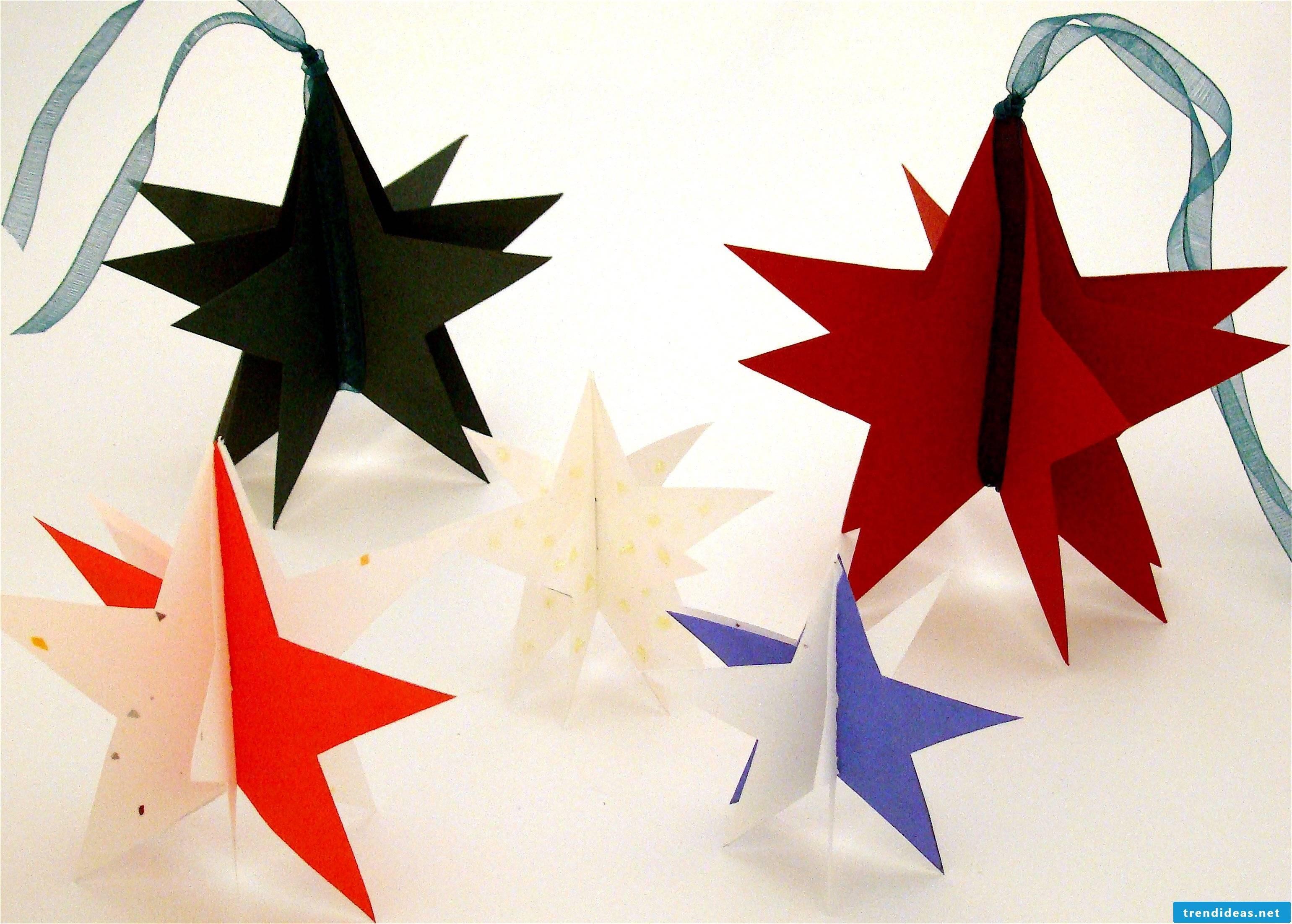 Tinker 3D Christmas stars