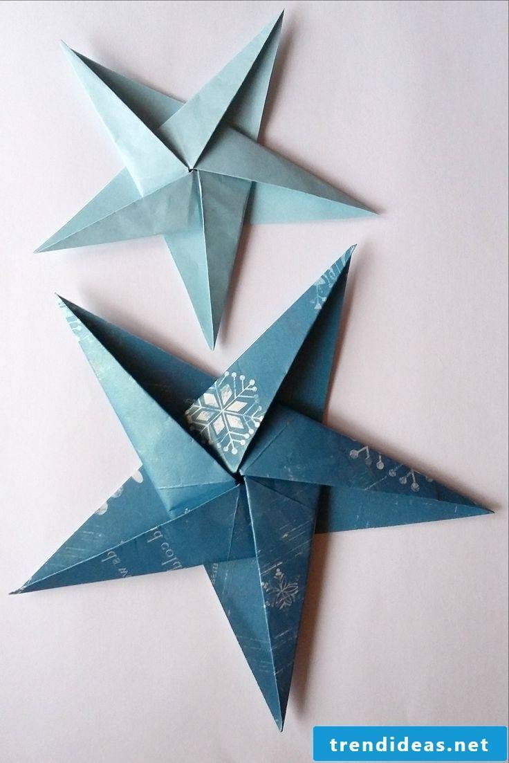 Fold Christmas stars