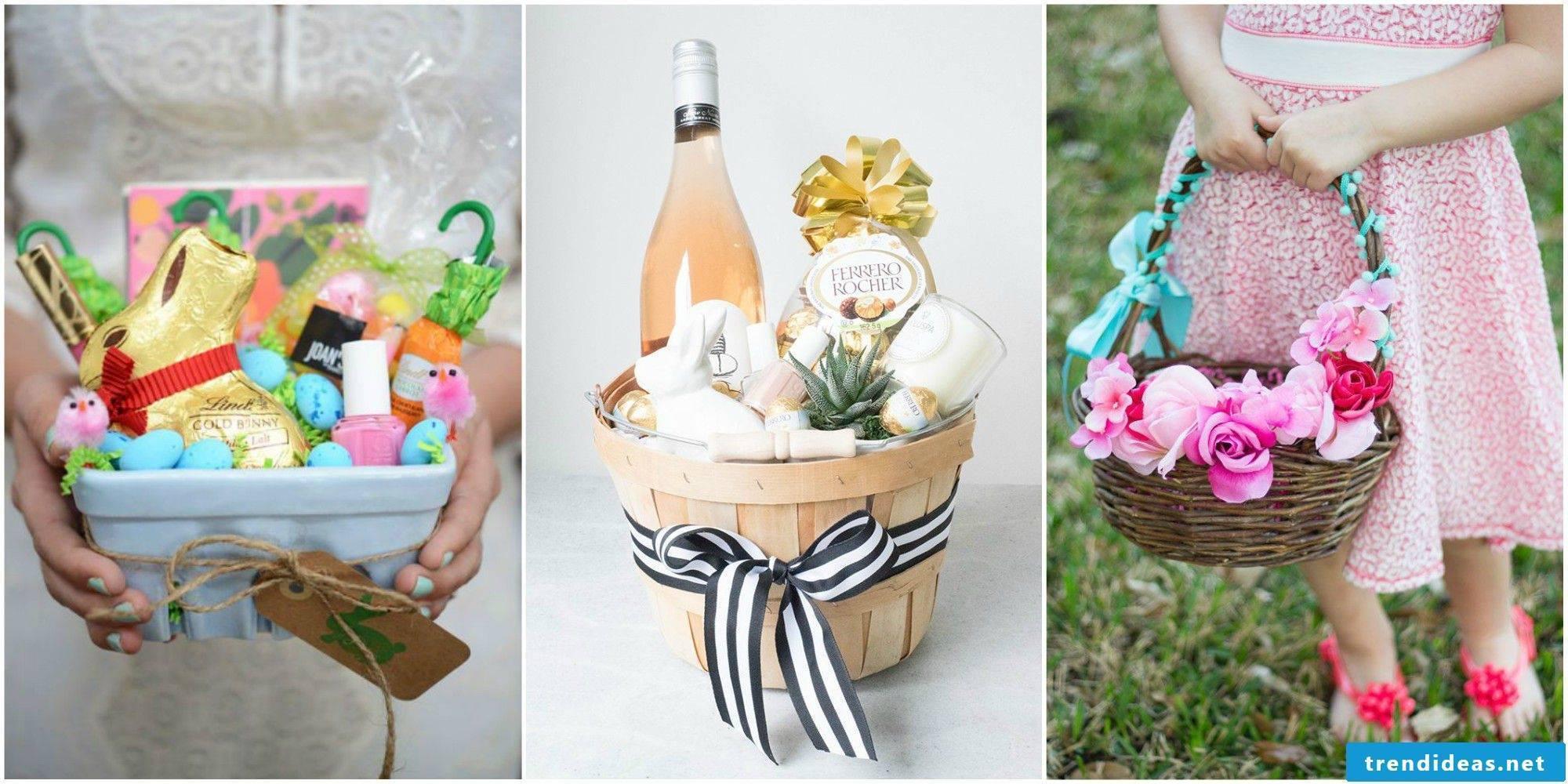 Make Easter baskets