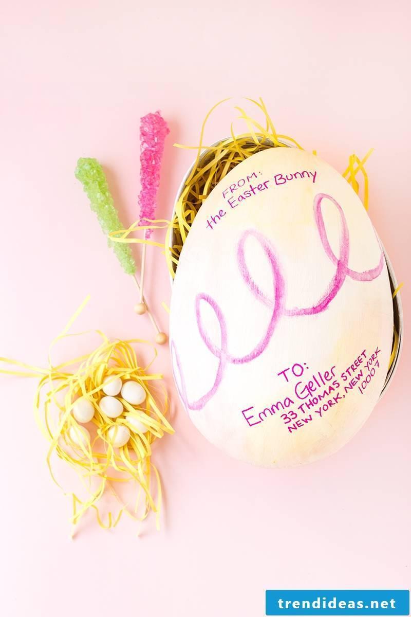 Easter baskets make DIY ideas