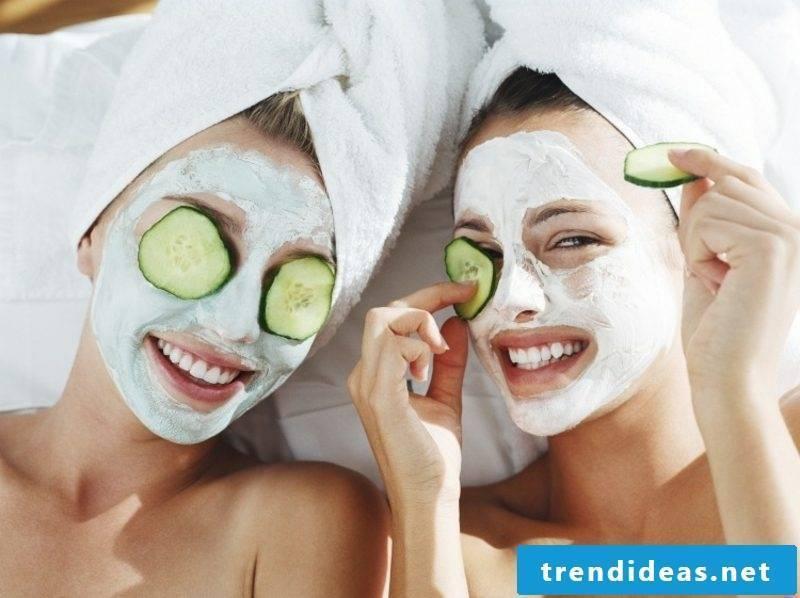 Masks themselves make recipes quark and lemon combination skin
