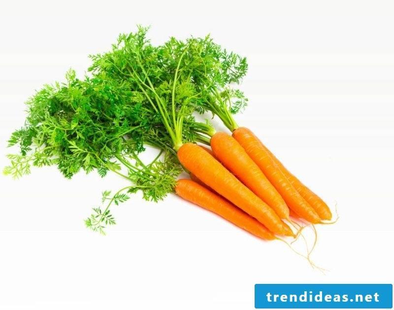Face mask itself make carrots against wrinkles