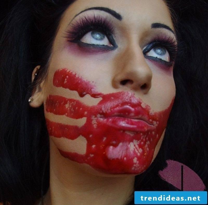 Make fake blood yourself
