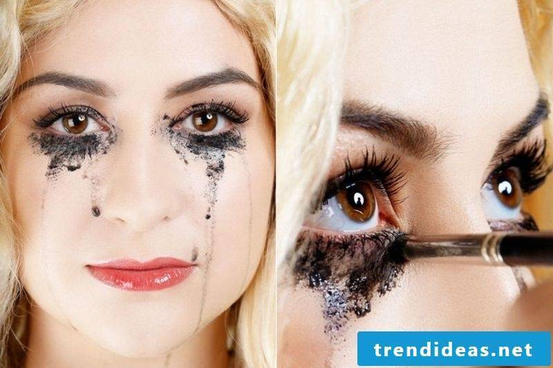 Halloween make-up ideas and inspirations
