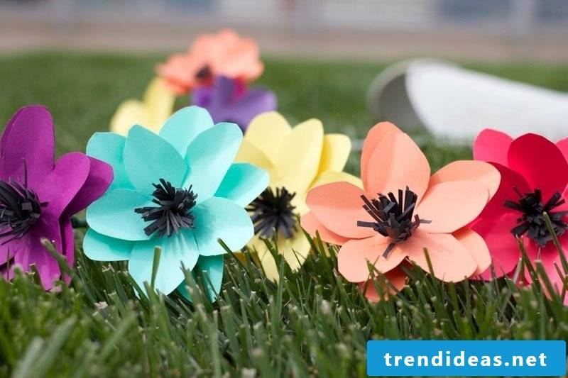 flowers crafts instruction flower crafting paper flowers tinker