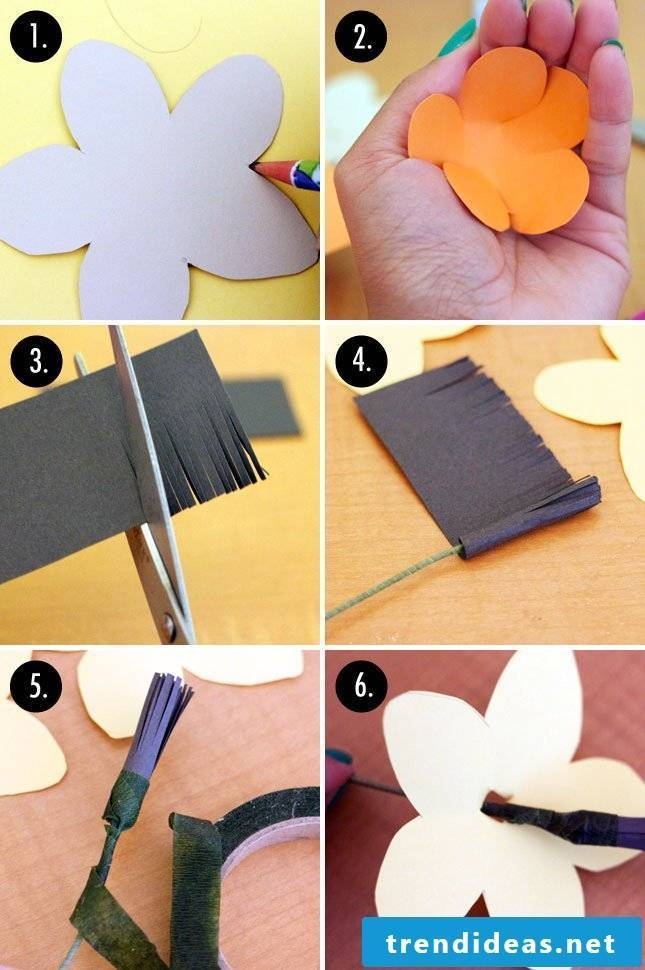 flowers crafting paper flowers crafting crafts ideas flower batseln