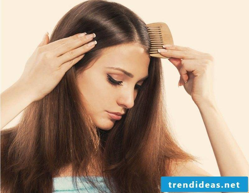 best hair cure recipes against dandruff