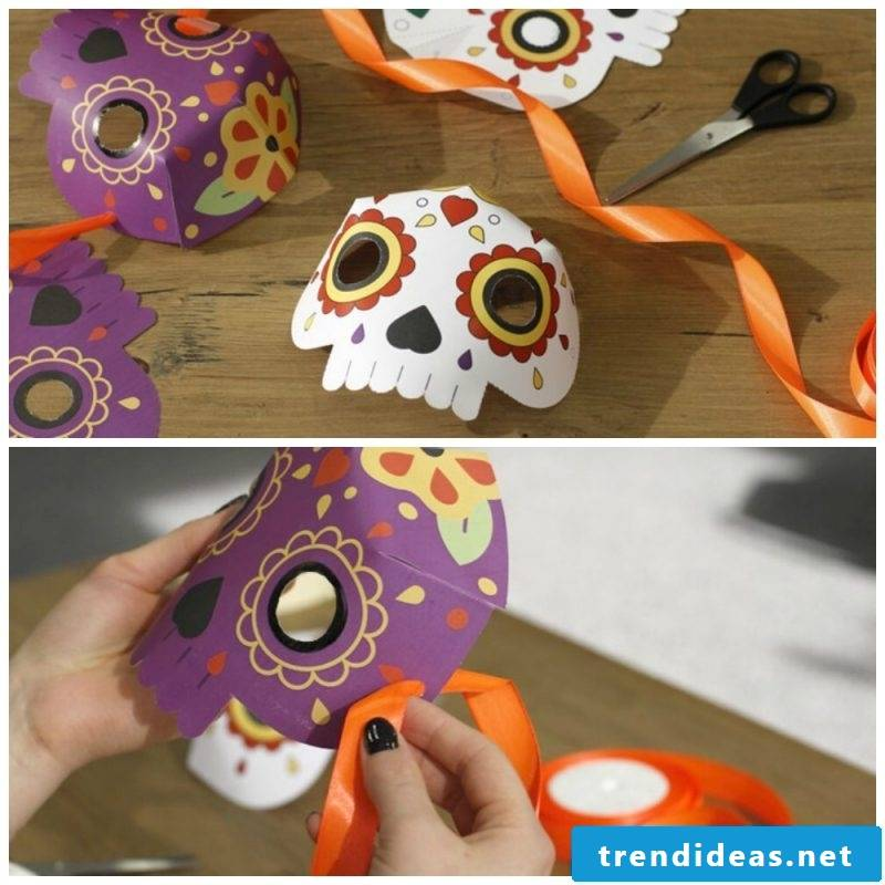 Stencils to print: Make a Halloween mask yourself