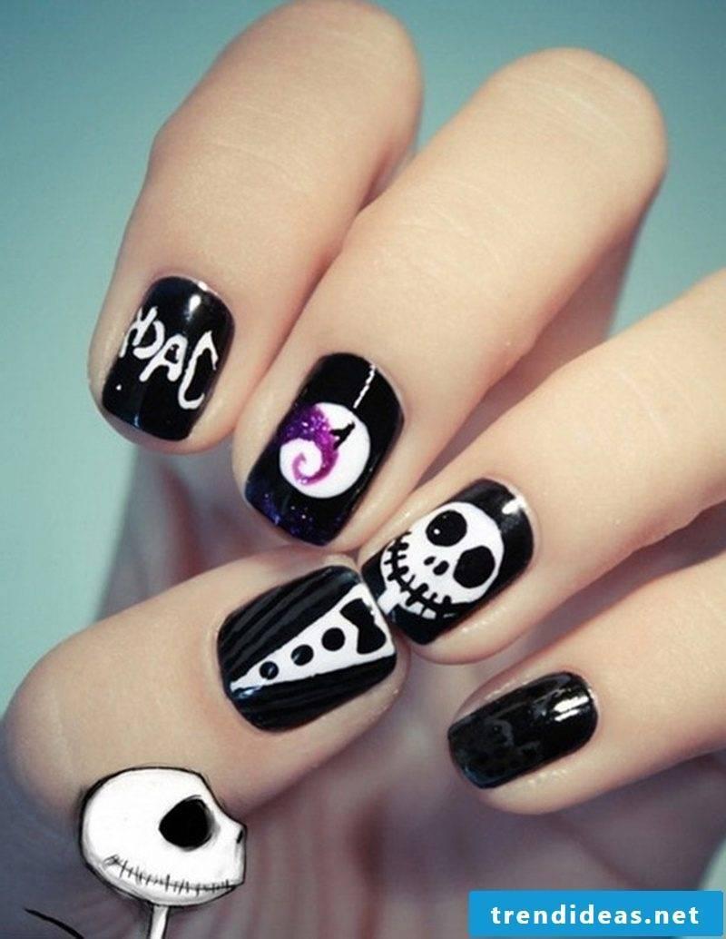 Halloween Nails Nail Art
