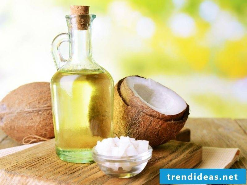 Make hand cream with coconut oil yourself