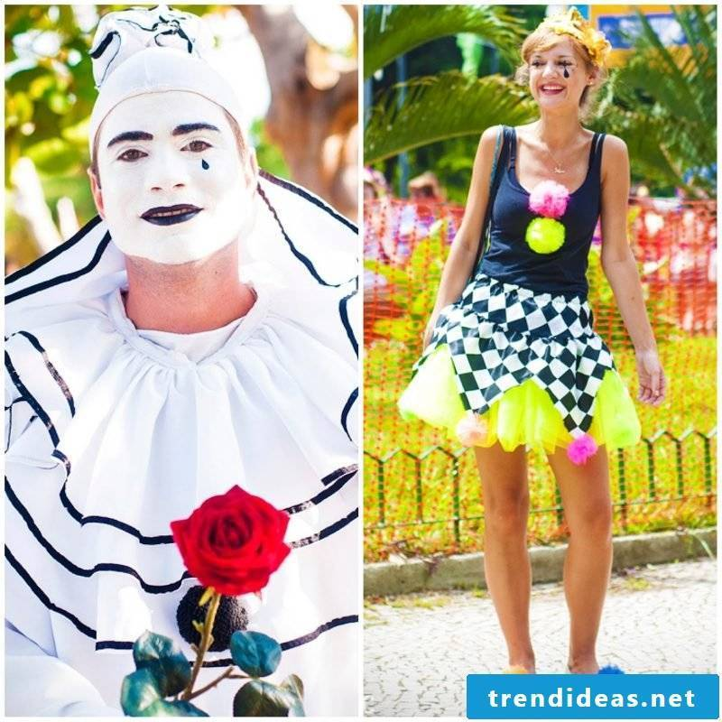 Make carnival costume yourself