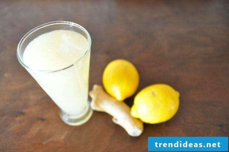 How to make ginger lemonade yourself