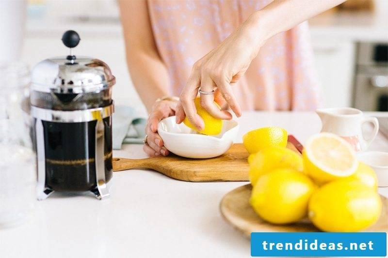 Make coffee lemonade yourself - recipe