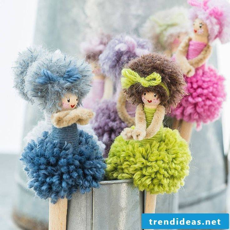 Beautiful pompons