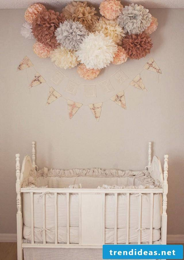 Pompoms in the nursery