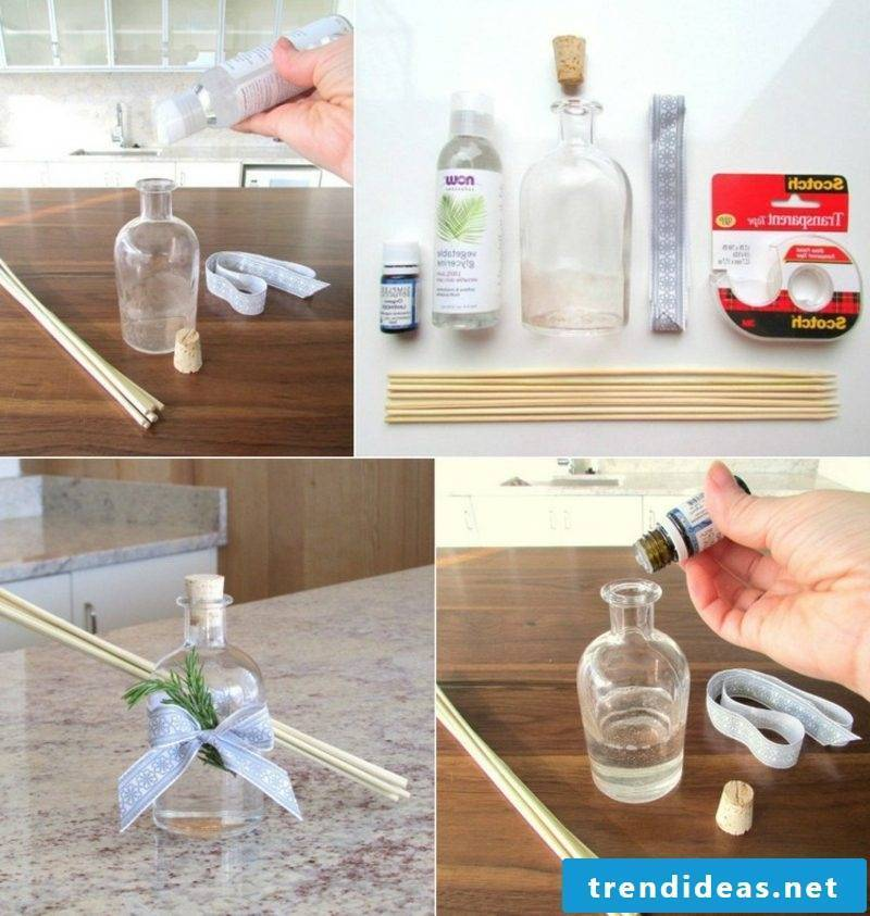 Room fragrance chopsticks themselves make instructions in pictures